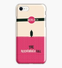 Reichenbach Fall iPhone Case/Skin