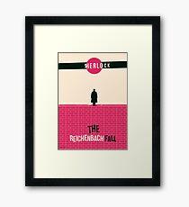 Reichenbach Fall Framed Print