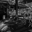 B&W on Auto by Peter Krause