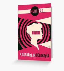 Scandal in Belgravia Greeting Card