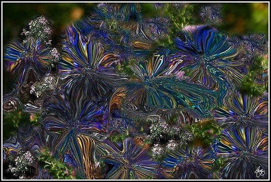 Lysergic Asters by Wayne King
