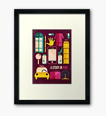 Icons Poster Framed Print