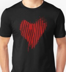 Grunge Heart - Love Valentine Unisex T-Shirt