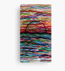 The Unsettling Sea Canvas Print