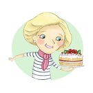 Mary Berry by Katie Corrigan