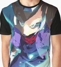 MELEE   Fox - Blue Graphic T-Shirt