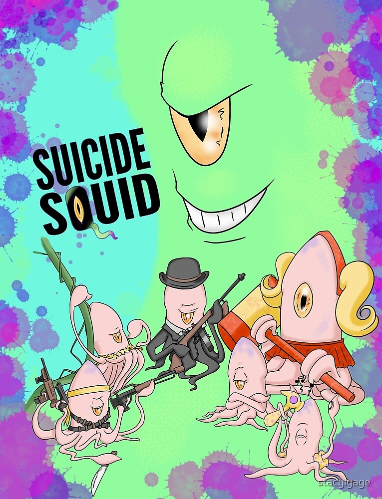 Suicide Squid by stacylgage