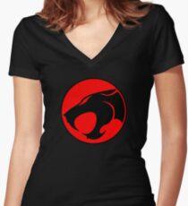 Thundercats Women's Fitted V-Neck T-Shirt