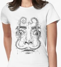 OCTOPUS DALI Tailliertes T-Shirt