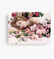Hyuna for Allure Canvas Print