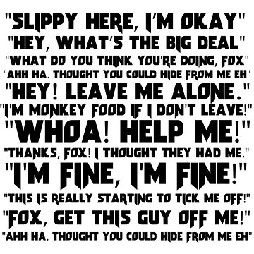 Slippy Quotes - Star Fox by MaxCohn