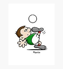 2014 World Cup - Mexico Photographic Print