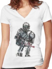 Imperial Death Trooper Women's Fitted V-Neck T-Shirt