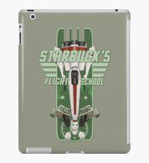 STARBUCK'S FLIGHT SCHOOL iPad Case/Skin