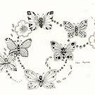 Butterfly Small by Gea Austen