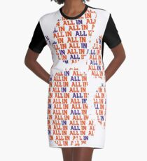 """ALL IN"" - Clemson Tee Graphic T-Shirt Dress"