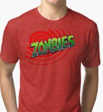 Zombies Ate My Neighbors Tri-blend T-Shirt