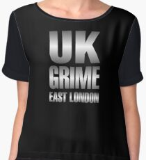 UK grime (metal) Women's Chiffon Top