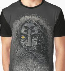 Comic Wizard Graphic T-Shirt