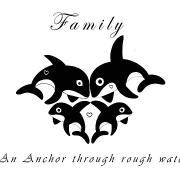Orca Family anchor by MMEIRI1