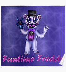 Sister Location: Funtime Freddy Poster