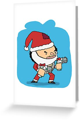 Brawlhalla secret santa thatch greeting cards by clunse redbubble brawlhalla secret santa thatch by clunse m4hsunfo