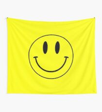 Acid House Smile Face Wall Tapestry