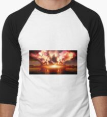 sci fi Men's Baseball ¾ T-Shirt