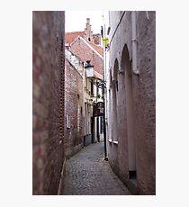 Narrow Street/Pass - Travel Photography Photographic Print