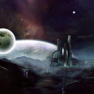 sci fi by avuc