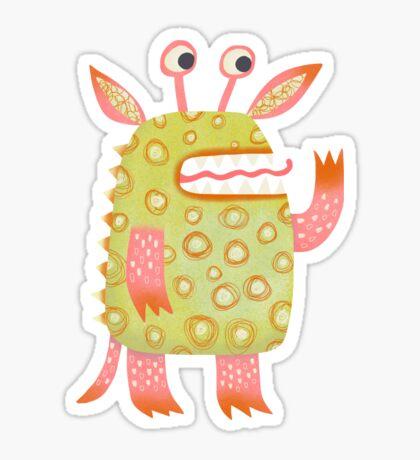 Monster Rufus Sticker