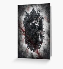 Fear of the Dark Greeting Card