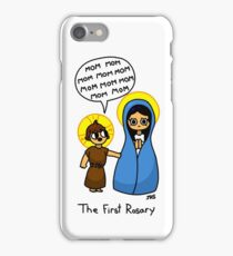 The First Rosary iPhone Case/Skin