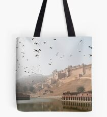 Jaipur Amber Fort Tote Bag