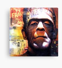 "Classic Movie Monsters ""The MONSTER"" Canvas Print"