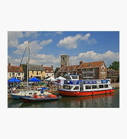 Carnival Day on Wareham Quay Photographic Print