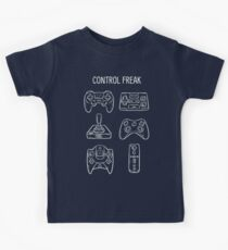 Control Freak Video Game Controller T Shirt Kids Clothes