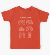Control Freak Video Game Controller T Shirt Kids Clothes