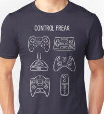Control Freak Video Game Controller T Shirt Unisex T-Shirt
