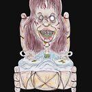 Horror Movie Possessed Caricature von MMPhotographyUK