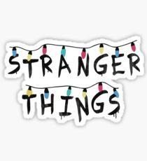 Stranger Things Fairy Lights Sticker