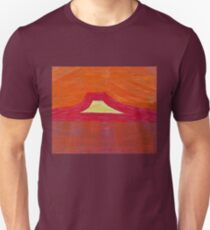 Mount Pedernal original painting Unisex T-Shirt