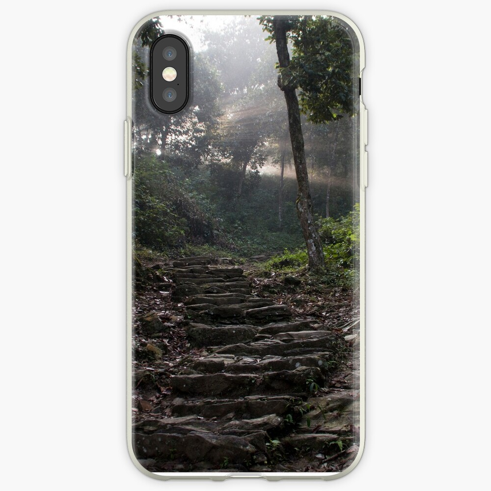 Stairs to the mountain  iPhone Cases & Covers