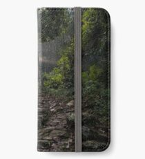 Stairs to the mountain  iPhone Wallet/Case/Skin