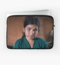 Girl in Thulasain Laptop Sleeve
