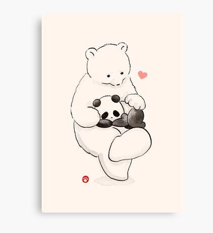 Panda Therapy Canvas Print