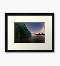 dusk screamers Framed Print