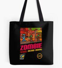 Zombie Head Hunt Tote Bag