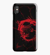 msi logo iPhone Case/Skin
