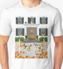 Autumn leaf game Unisex T-Shirt